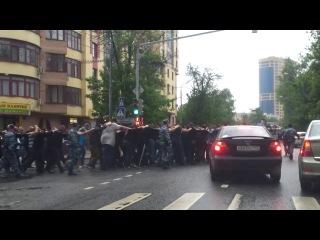 Массовый арест мигрантов